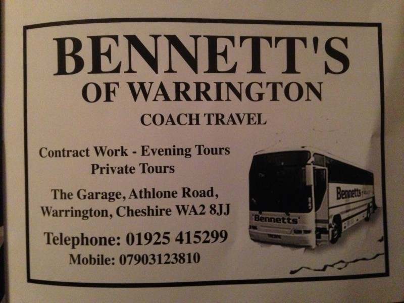 Bennetts Of Warrington